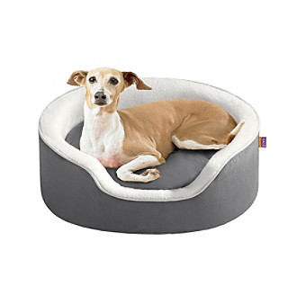 Halo Orthopedic Oval Pet Cuddler Dog Bed with Cushion