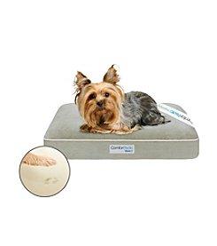 Simmons® Comforpedic Small Silver Green Orthopedic Pet Napper