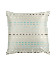 Surya Circle Striped Decorative Pillows