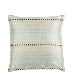 Chic Designs Circle Striped Decorative Pillows