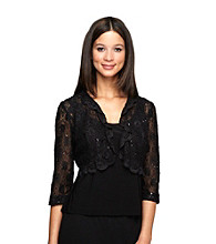 Alex Evenings® Lace Bolero Jacket