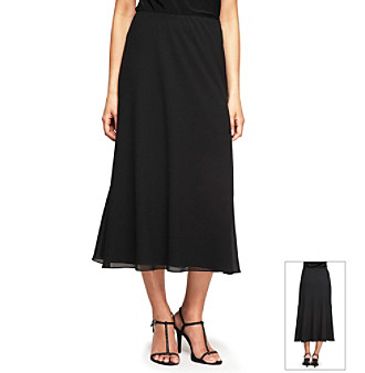 Alex Evenings® Tea Length A-Line Skirt