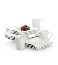 Maxwell & Williams White Basics Motion 16-pc. Dinner Set