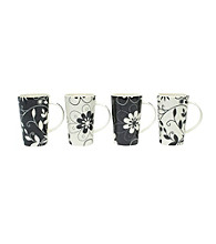 Maxwell & Williams Daisy May 4-pc. Mug Set