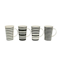 Maxwell & Williams Café Noir 4-pc. Mug Set