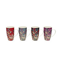 Maxwell & Williams Enchanted Garden 4-pc. Mug Set