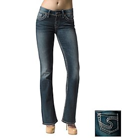 Silver Jeans Co. Suki Curvy Fit Mid Rise Bootcut Jeans