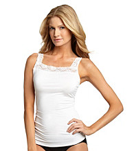Relativity® Lace Square Neck Camisole Slip