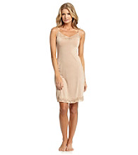 Relativity® Lace V-neck Full Slip V-Neck