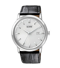Citizen® Eco Drive Mens Date Strap