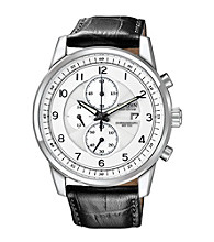 Citizen® Eco Drive Men's Strap Chronograph Watch
