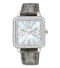 Citizen® Eco-Drive Women's Silhouette Crystal Watch
