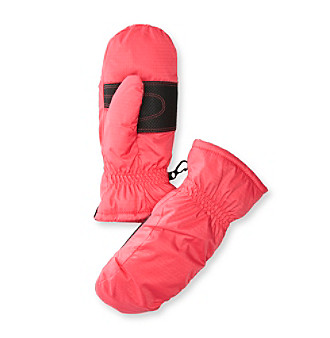 Columbia Girls' Bright Pink City Trek Mittens