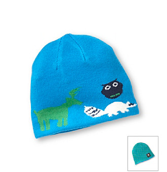 Columbia Boys' 2T-4T Blue Urban Beanie