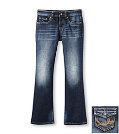 Jessica Simpson Girls' 7-16 Eco Wash Bootcut Jeans