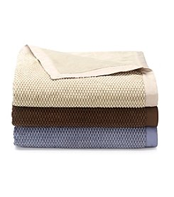 LivingQuarters Honeycomb Blankets