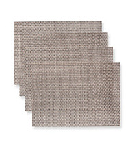 Alyssa Joy Over & Under Weave Set of 4 Place Mats