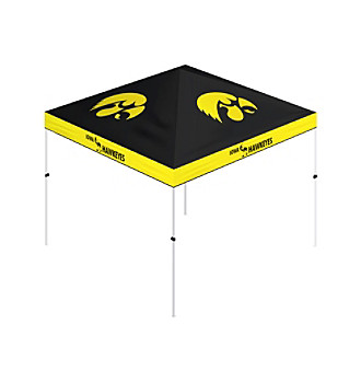 Trademark Global Iowa Hawkeyes 10x10' Gazebo Tent Canopy