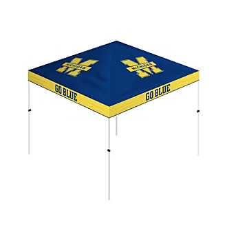 Trademark Global Michigan Wolverines 10x10' Gazebo Tent Canopy