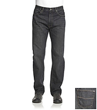 Ruff Hewn Men's Black Fade 5-Pocket Straight-Leg Jeans