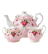Royal Albert® New Country Rose Pink 3-pc. Tea Set
