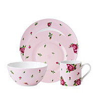 Royal Albert® New Country Roses Pink Modern Casual 4-pc. Place Setting