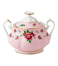 Royal Albert® New Country Roses Pink Vintage Covered Sugar Bowl