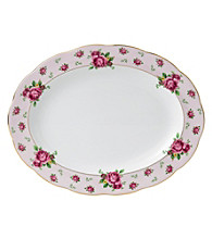 Royal Albert® New Country Roses Pink Vintage Oval 13