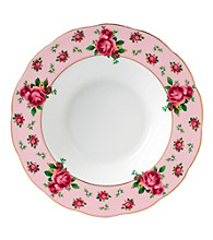 Royal Albert® New Country Roses Pink Vintage Rimmed Soup or Salad Bowl