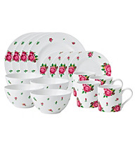Royal Albert® New Country Roses White Modern Casual 16-pc. Dining Set
