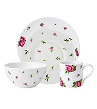 Royal Albert® New Country Roses White Modern Casual 4-pc. Place Setting