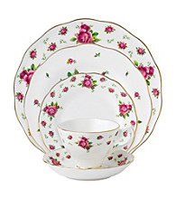 Royal Albert® New Country Roses White Vintage 5-pc. Place Setting