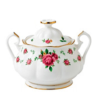 Royal Albert® New Country Roses White Vintage Covered Sugar Bowl