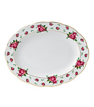 Royal Albert® New Country Roses White Vintage Oval 13