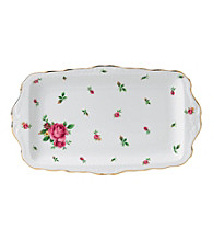 Royal Albert® New Country Roses White Vintage Sandwich Tray