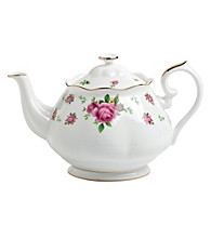 Royal Albert® New Country Roses White Vintage Teapot