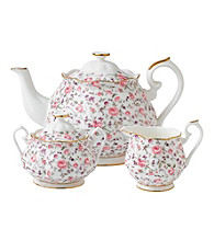 Royal Albert® Rose Confetti 3-pc. Tea Set
