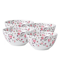 Royal Albert® Rose Confetti Casual Set of 4 Cereal Bowl