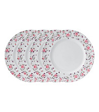 Royal Albert® Rose Confetti Casual Set of 4 Dinner Plate