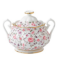 Royal Albert® Rose Confetti Vintage Covered Sugar Bowl