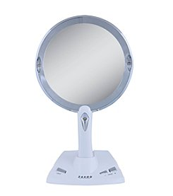 Zadro LED Lighted Vanity/Wall Mount Power Zoom Mirror with 1x-5x Magnification
