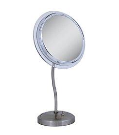 Zadro S-Neck Surround Light Vanity Mirror with 5x Magnification