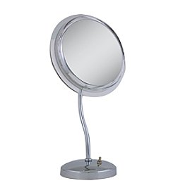 Zadro S-Neck Surround Light Vanity Mirror with 7x Magnification