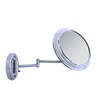 Zadro Surround Light Wall Mount Mirror with 5x Magnification