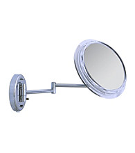 Zadro Surround Light Wall Mount Mirror with 7x Magnification