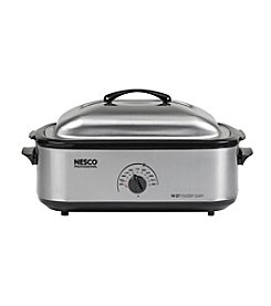 Nesco® Professional 18-qt. Stainless Steel Roaster Oven with Nonstick Cookwell