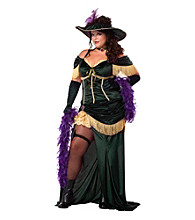The Saloon Madame Adult Plus Costume