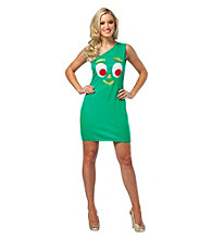 Gumby Tank Dress Adult Costume
