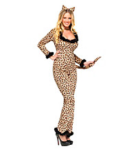 Luscious Leopard Adult Costume