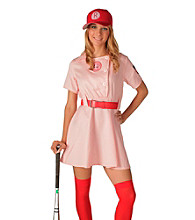 A League Of Their Own Rockford Peaches Adult Costume